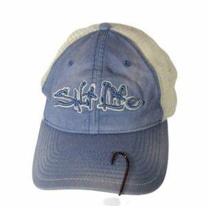 Salt Life Ballcap Mesh Blue White Snapback